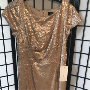 Adrianna Papell Sequin Dress size 14w